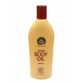 Herbal Body Oil Sandal Keo Karpin 200ml. Массажное сандаловое масло