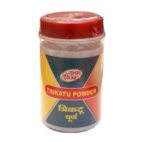 Trikatu Powder Shri Ganga 100gm. Трикату