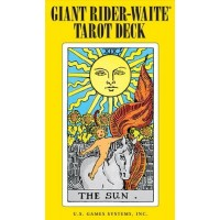 Giant Rider-Waite Tarot Deck.  ГигантскоеТаро Райдера-Уэйта